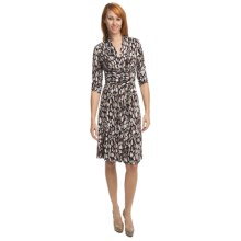 Two Star Dog Tatiana Belted Dress - 3/4 Sleeve (For Women) in Avellino - Closeouts