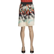 Two Star Dog Virginia Skirt - Monaco Print, Voile, Pleated (For Women) in Print - Closeouts