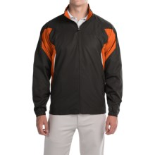 Two-Tone Active Jacket (For Men) in Black/Orange - 2nds