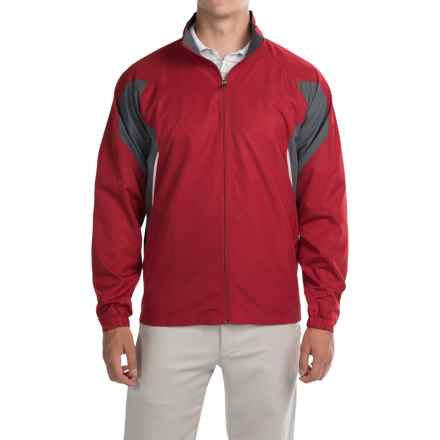 Two-Tone Active Jacket (For Men) in Red/Grey - 2nds