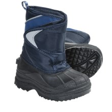 Two-Tone Lined Snow Boots (For Kids and Youth) in Night Sky/Black - Closeouts