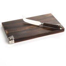 Two's Company Cheese Serving Set - 2-Piece in See Photo - Closeouts