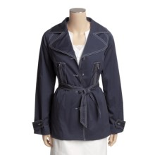 Tyler Boe Billie Jean Jacket - Stretch Cotton Sateen (For Women) in Ink - Closeouts
