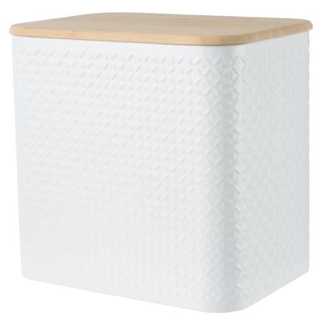Typhoon Imprima Diamond Bread Bin in White