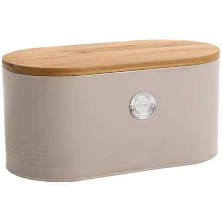 Typhoon Living Bread Bin in Putty - Closeouts