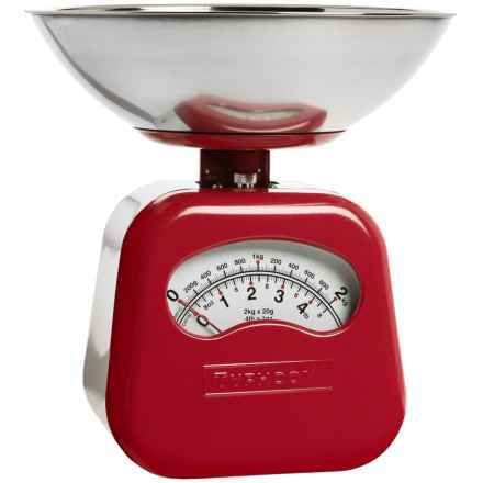 Typhoon Novo Red Mechanical Scale in Red - Closeouts