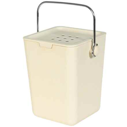 Typhoon Nubu Compost Caddy Cream in Cream - Closeouts