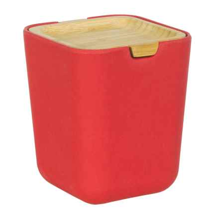 Typhoon Nubu Food Storage Container with Bamboo Lid - 22 oz. in Red - Closeouts