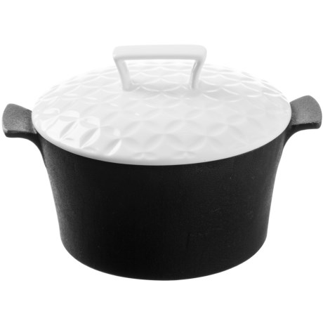 Typhoon Skandi Pre Seasoned Cast Iron Casserole 2 qt.