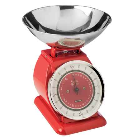 Typhoon Stainless Steel Bella Kitchen Scale in Red - Overstock