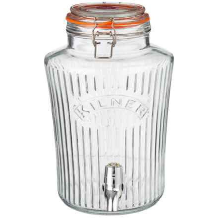 Typhoon Vintage Drinks Dispenser - 1.3 Gallon in Clear - Closeouts