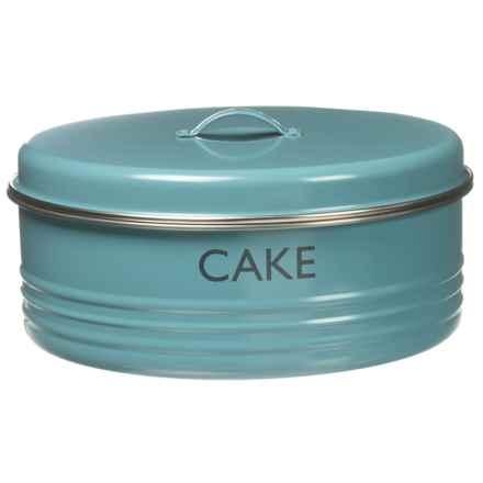 "Typhoon Vintage Kitchen Cake Tin - 10x4-1/2"" in Blue - Closeouts"