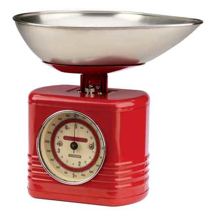 Typhoon Vintage Kitchen Scale in Red - Closeouts