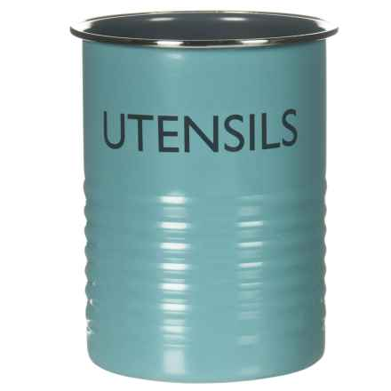 Typhoon Vintage Kitchen Utensil Pot in Blue - Closeouts