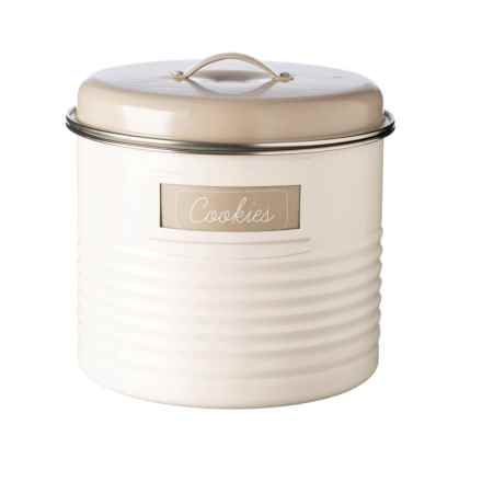 Typhoon Vintage Large Storage Canister in Cream - Closeouts
