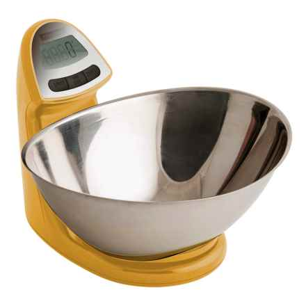Typhoon Vision Electronic Kitchen Scale in Yellow - Overstock