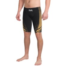 TYR AP12 Credere Compression Speed Swimsuit (For Men) in Black/Gold - Closeouts