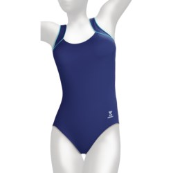 TYR Aquatic One-Piece Swimsuit - Square Neck (For Women) in St. Lucia