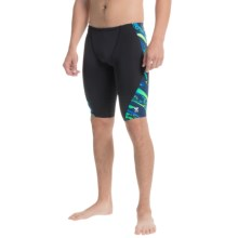 TYR Ardent Blade Splice Jammer Swimsuit (For Men) in Blue/Green - Closeouts