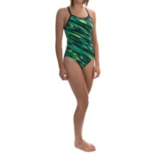 TYR Ardent Diamondfit Swimsuit - UPF 50+ (For Women) in Green - Closeouts