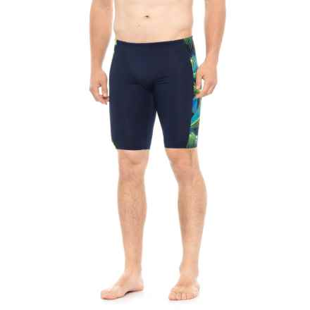 TYR Axis Hero Jammer Swimsuit - UPF 50+ (For Men) in Blue/Green - Closeouts