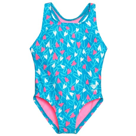 TYR BFF Maxfit One-Piece Swimsuit (For Toddler Girls) in Blue