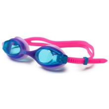 TYR Big Swimple Swim Goggles (For Men and Women) in Berry Fizz - Closeouts