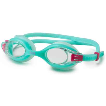 TYR Big Swimple Swim Goggles (For Men and Women) in Mint - Closeouts