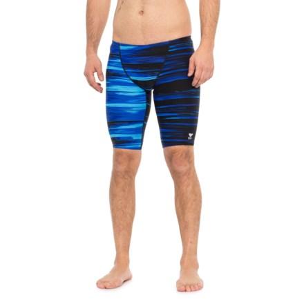 9315490999 TYR Blue Lumen Jammer Swimsuit - UPF 50+ (For Men) in Blue