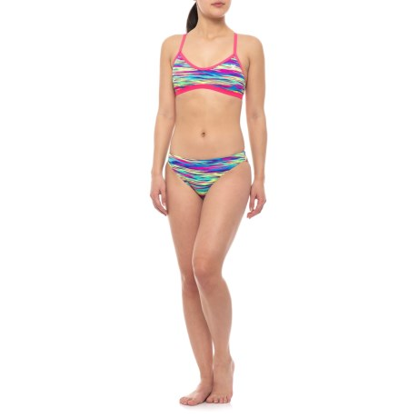 829ee7dbfcafb TYR Bonzai Tieback Bikini Top and Classic Bikini Bottom Set - UPF 50+ (For