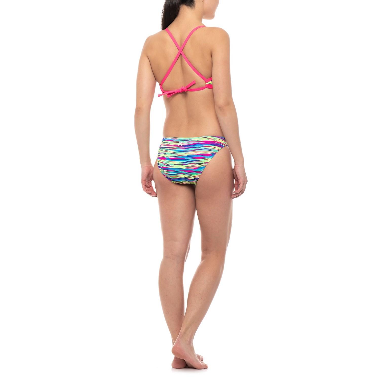 29206d2726cb6 TYR Bonzai Tieback Bikini Top and Classic Bikini Bottom Set - UPF 50+ (For  Women)