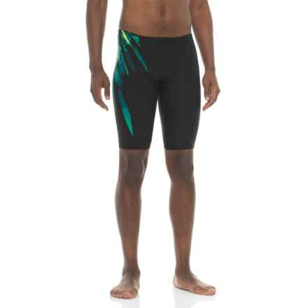 TYR Bravos Jammer Swimsuit - UPF 50+ (For Men) in Green - Closeouts