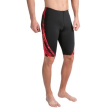 TYR Contact Legend Splice Jammer Swimsuit - UPF 50+ (For Men) in Red - Closeouts