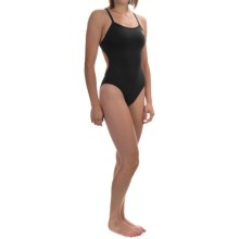 TYR Durafast Elite Solid Thin-X Fit Swimsuit - UPF 50+ (For Women) in Black - Closeouts