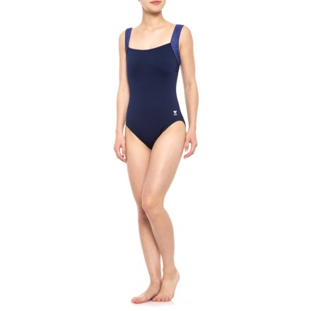 4672ece159 TYR Fitness Mantra Square-Neck Controlfit Swimsuit - UPF 50+ (For Women)