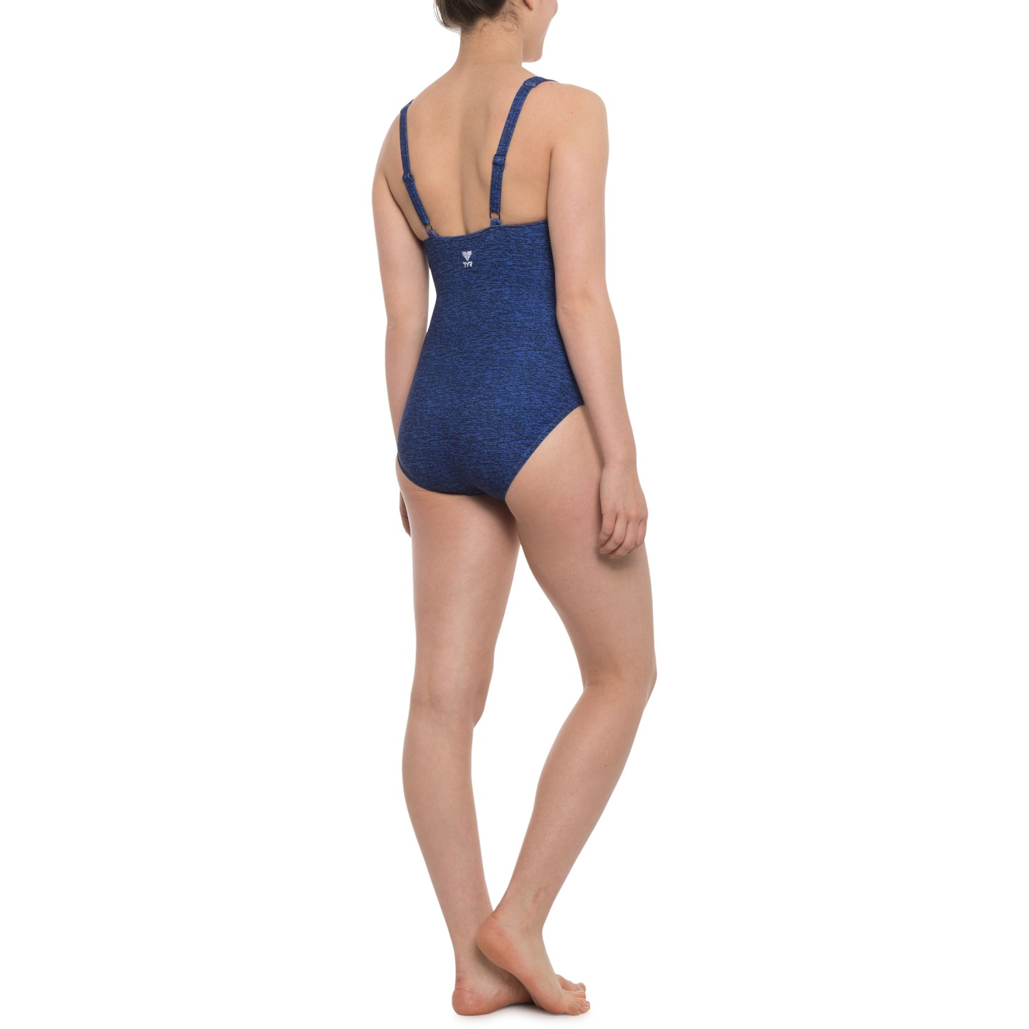 928f32d0969 TYR Fitness Mantra V-Neck Controlfit One-Piece Swimsuit - UPF 50+ (For Women )