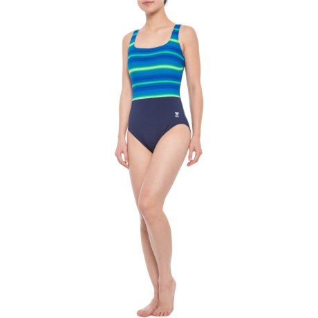 e3fd693117 TYR Fitness Tramonto Controlfit One-Piece Swimsuit - UPF 50+ (For Women)