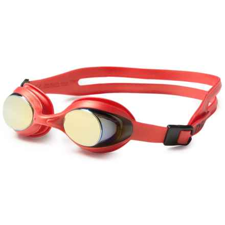 TYR Flex Frame Swim Goggles (For Kids) in Red - Closeouts