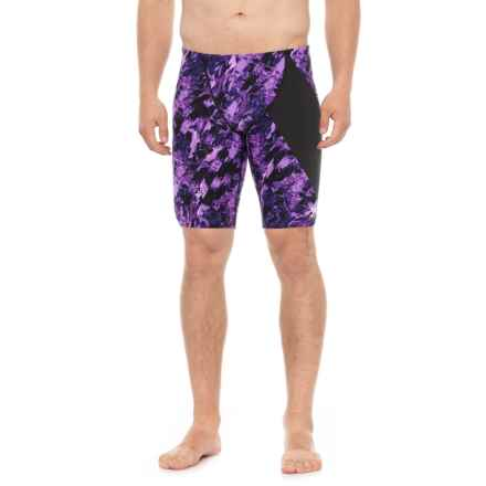 TYR Glisade Diverage Jammer Swimsuit - UPF 50+ (For Men) in Purple - Closeouts