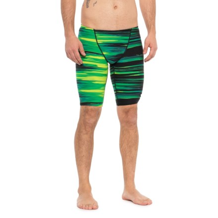 d4b639f4251bf TYR Green Lumen Jammer Swimsuit - UPF 50+ (For Men) in Green
