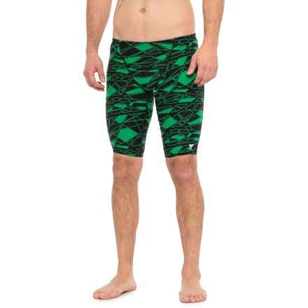 30adda9205 TYR Green Mantova Jammer Swimsuit - UPF 50+ (For Men) in Green