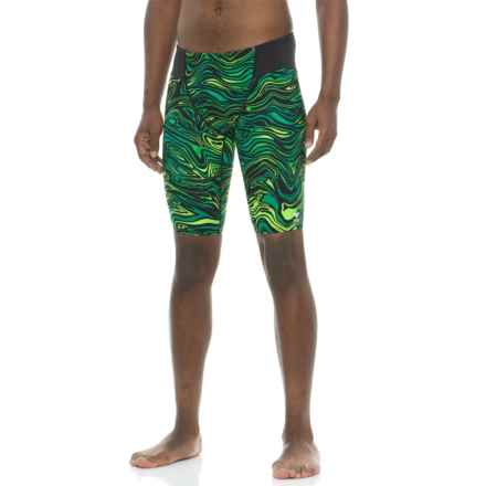 TYR Heatwave Jammer Swimsuit - UPF 50+ (For Men) in Green - Closeouts