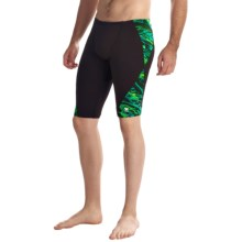 TYR Hypnosis Blade Splice Jammer Swimsuit (For Men) in Green - Closeouts