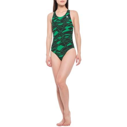 788ce8c6e0 TYR Mantova Maxfit Swimsuit - UPF 50+ (For Women) in Green - Closeouts