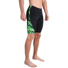 TYR Nexus Legend Splice Jammer Swimsuit - UPF 50+ (For Men) in Green - Closeouts