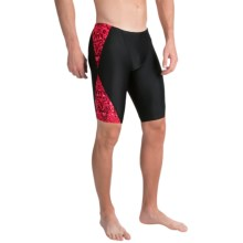 TYR Palisade Blade Splice Jammer Swimsuit - UPF 50+ (For Men) in Red - Closeouts