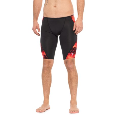 3732e76d36 TYR Red Perseus Jammer Swimsuit - UPF 50+ (For Men) in Red