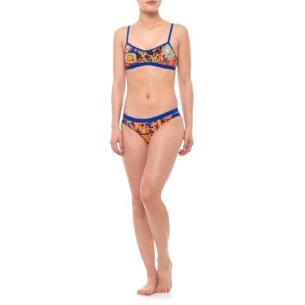 98ef110d17d TYR Santa Ana Mojave Tieback Bikini Top with Santa Ana Cove Bottom Set -  UPF 50