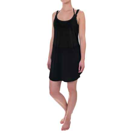 TYR Santorini Layback Swimsuit Cover-Up Dress - Sleeveless (For Women) in Black - Closeouts