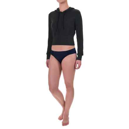 TYR Santorini Offshore Swimsuit Cover-Up Hoodie (For Women) in Black - Closeouts